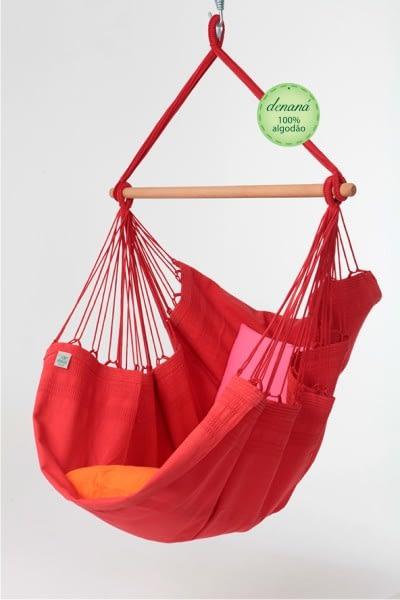 Hamak Fotel Vermelha 110